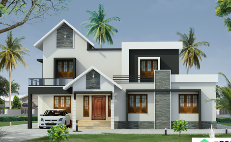 Contemporary House Designs In India