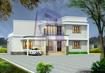 2395-square-feet-4-bedroom-3-bathroom-1-garage-contemporary-house-kerala-style-box-type-house-duplex-house-id0055