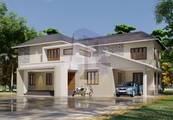 3132-square-feet-4-bedroom-4-bathroom-1-garage-traditional-house-kerala-style-classical-house-villa-house-duplex-house-luxuary-house-id0146