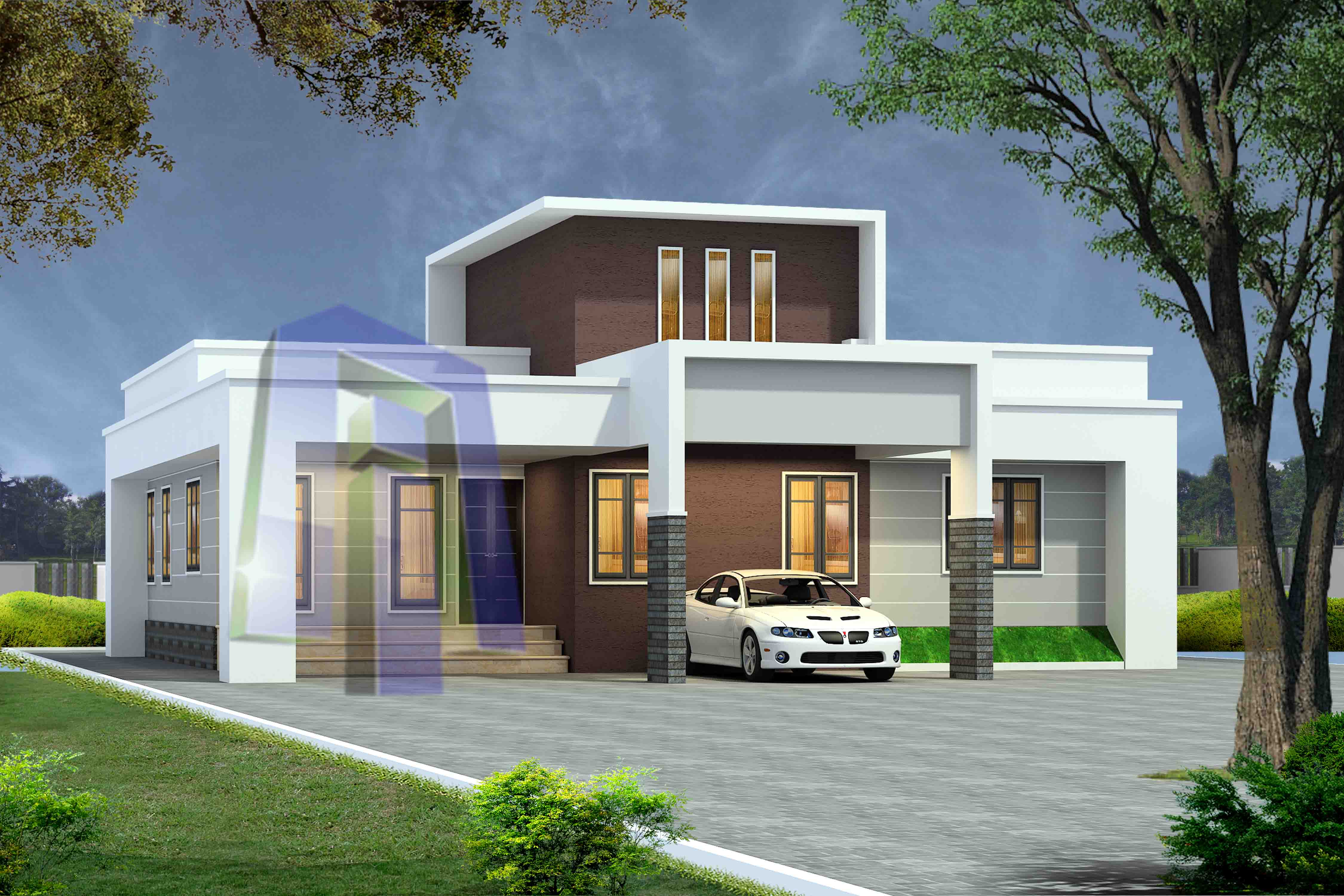 2 Bedroom House Plan Indian Style | 1000 Sq Ft House Plans ...